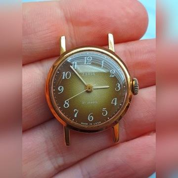 Zegarek damski zaria zlocony IDEAL