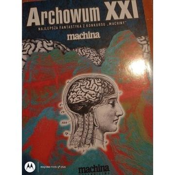 Książka Archiwum XXI ( fantastyka z konkursu )