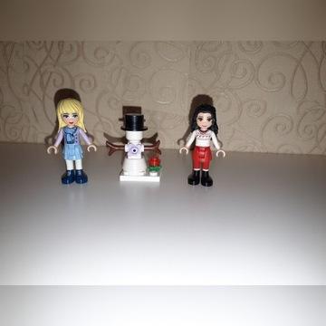 Lego friends minifigures laleczki świąteczneBałwan