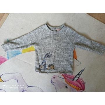 sweterek 92 NEXT jak nowy! ZAJĄC JEŻ