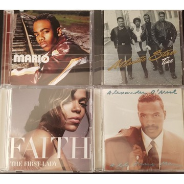 4 CD SOUL  Mario, Faith Evans, Atlantic, A.O'Neal