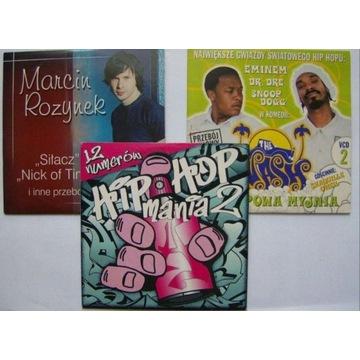 3 płyty CD z muzyką