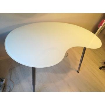 Designerskie biurko z IKEA
