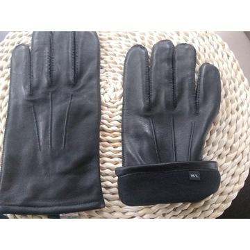 Rękawiczki skórzane męskie. M/L