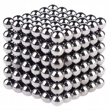 Neocube klocki kulki magnetyczne 5mm 216szt + BOX