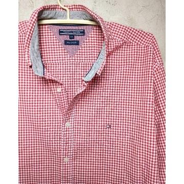 TOMMY HILFIGER__koszula w kratkę vichy (XXL)