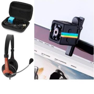 miniKamera SpyWebCam IP FullHD ze Słuchawki i Etui