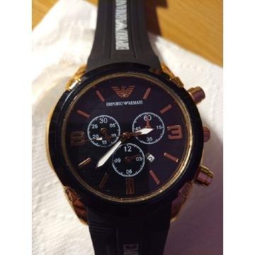 Nowy Zegarek Armani [Czarny]