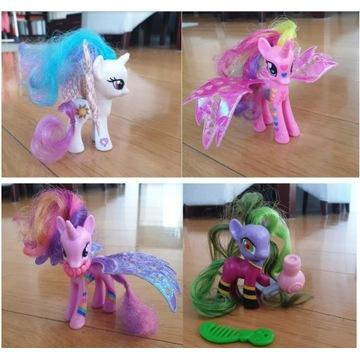 Figurki koniki - 16 i przytulanki My Little Pony