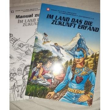 Landeskunde Schweiz -komiks dydaktyczny+materiały
