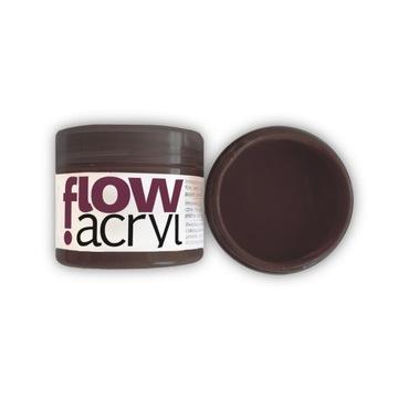 Farba akrylowo-winylowa Flow Acryl - burnt umber
