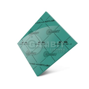 Płyta uszczelkarska AF-OIL 250x250 1mm