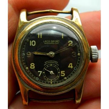 Rzadki zegarek wojskowy militarny Laco 2 wojna