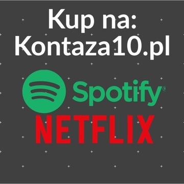 ????!! NE----TFLIX Spotify 30 KONTO Natychmiast PL
