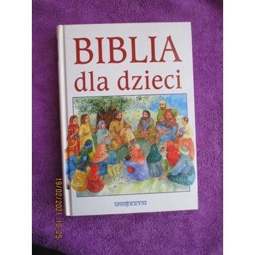 Biblia dla dzieci Twarda 256 stron SPIS TREŚCI