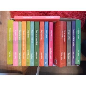 16 książek z serii literatura w spódnicy