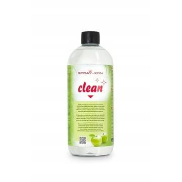 CLEAN SPRAY-KON odtłuszcza zmywa kleje etykiety 1L