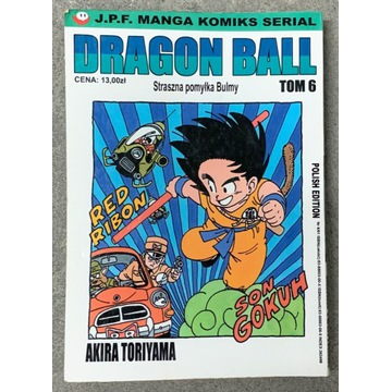 Komiks Dragon Ball - tom 6