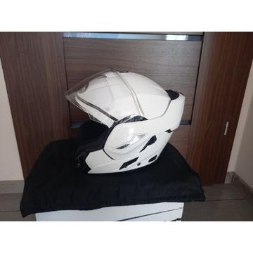 Kask Motocyklowy Airoh REV 19, Biały, Pinlock