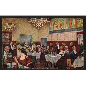 Restauracja - Wiedeń - 1915 rok