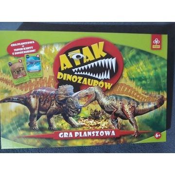 Gra planszowa Atak Dinozaurów firmy TREFL