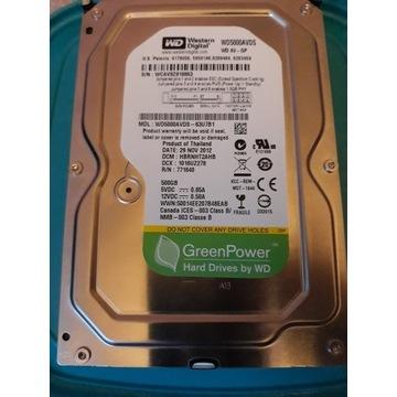 WD5000AVDS-63U7B1 500GB 5400RPM