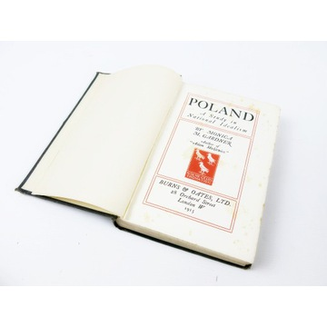Poland A Study in National Idealism M.Gardner 1915