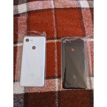 Google Pixel 3 klapka/tył/szkło/obudowa Biała/Czar