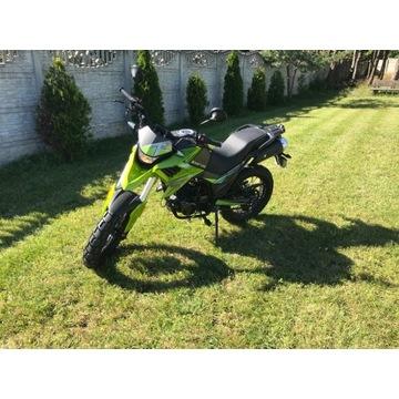 Motocykl Barton Hyper 125 Jak nowy