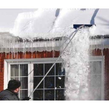 Łopata zgarniacz 9m do śniegu na dachu panelach PV