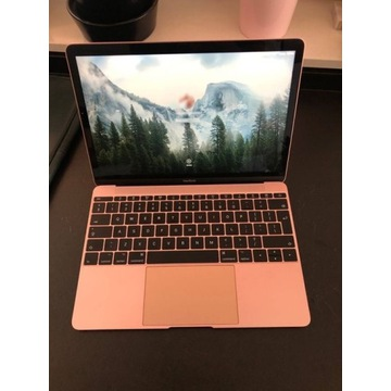 """Różowy MacBook A1534, 12"""", różowy, 0.92kg!"""