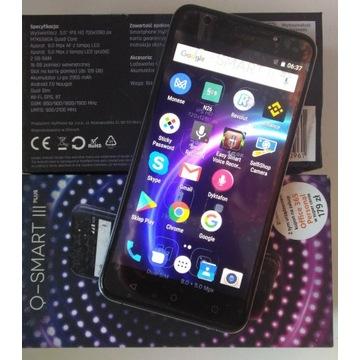 """Okazyjnie Q-SmartIII Plus 5,5"""" 16/2GB 8/5Mpx DualS"""