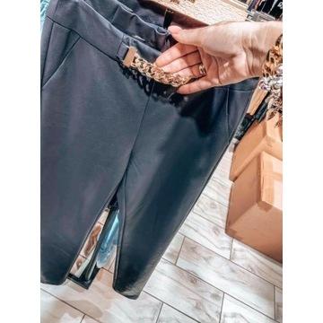 Eleganckie spodnie l ekoskora