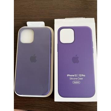 Case etui Apple iPhone 12 PRO Ametyst oryginalny