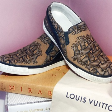 LOUIS VUITTON X CH. NEMETH Wsuwane buty męskie