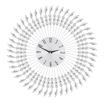 Zegar Pranto Big HOME&YOU, nowy, kryształkowy!