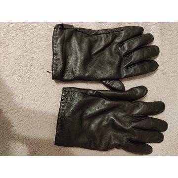 Rękawiczki skórzane Ochnik owcza skóra wełna 10