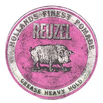 REUZEL PINK GREASE PIG RÓŻOWA POMADA WOSKOWA 113g