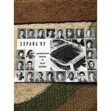 Mistrzostwa świat w piłce nożnej Espana 82