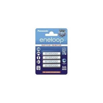 Akumulatorki AAA 750 mAh Eneloop PANASONIC 4 szt.
