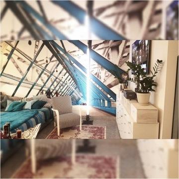 Lampa LED stojąca podłogowa loft vintage H 220cm.