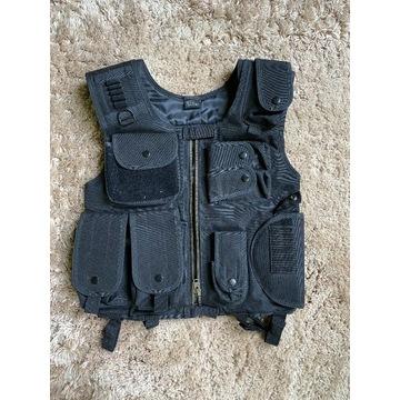 Kamizelka taktyczna ASG SWAT czarna black