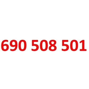 690 508 501 orange złoty numer