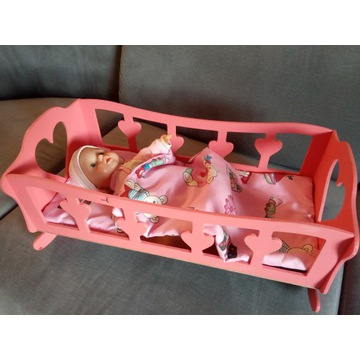 Kołyska dla lalki, lalek...