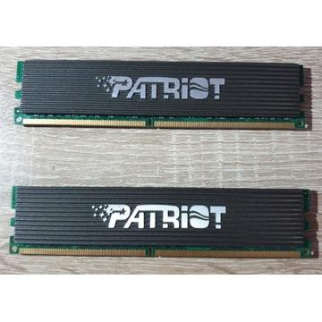 2 SZT. - PATRIOT DDR2 4GB (2x2GB) PDC24G6400ELK GW