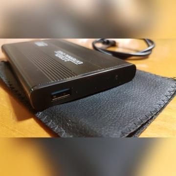 """Dysk 2.5"""" zewnętrzny 500GB USB 3.0  stan BDB"""