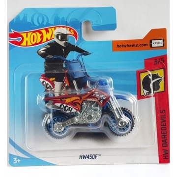 Hot Wheels rok 2020 NOWY HW450F motor