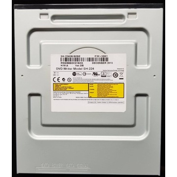 Samsung SH-224DB/BEBE SATA DVD WRITER 1.5MB 5.25''