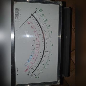 Zabytkowy multimetr Meratronik