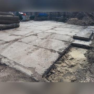 płyty betonowe drogowe